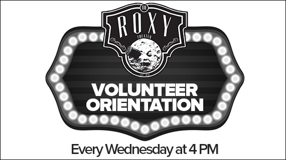 Volunteer at The Roxy
