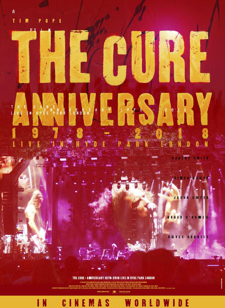 Cinema Arts Centre - The Cure - Anniversary 1978-2018 Live