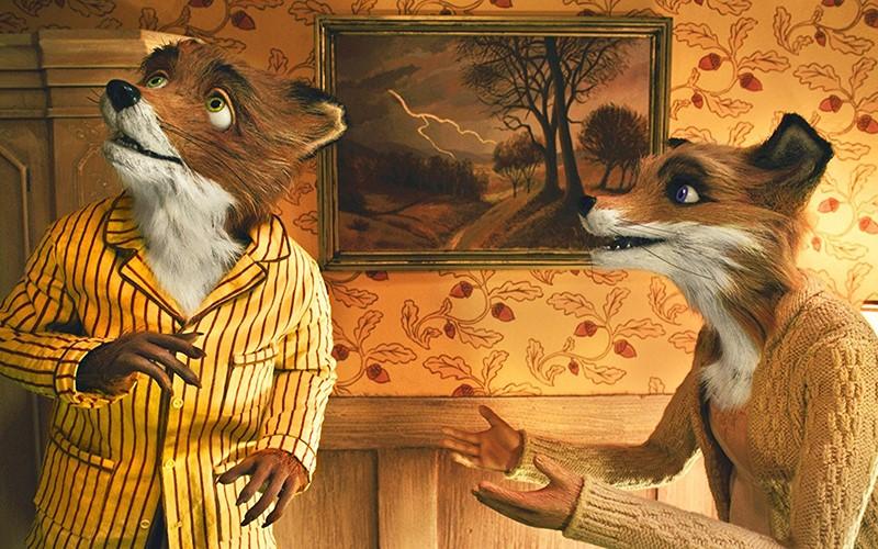 Film Scene Fantastic Mr Fox