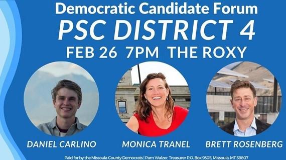 Democratic Candidate Forum - PSC District 4