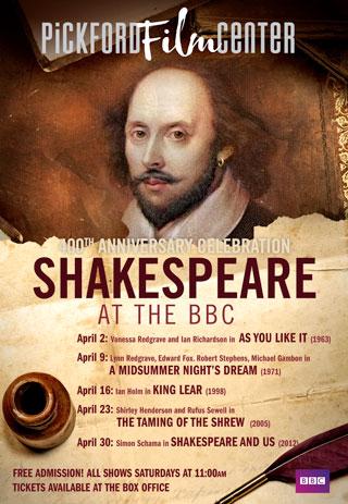 Pickford Film Center - BBC Shakespeare: Simon Schama's Shakespeare