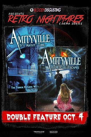 Retro Nightmares: Double Feature! Amityville: The Evil Escapes & Amityville: It's About Time