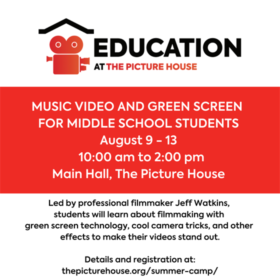 Music Video and Green Screen for Middle School Students