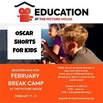 February Break Camp - Oscar Shorts for Kids K-2