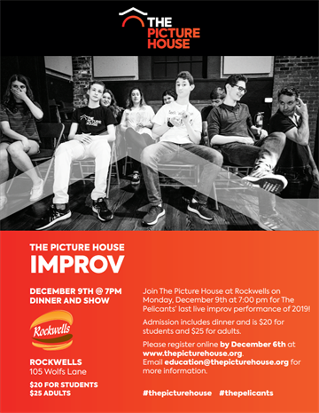 Pelicants Improv at Rockwells